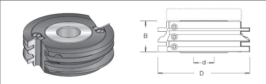 Tongue and Groove Cutter (Max  27mm)